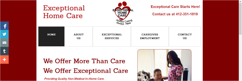 PA Exceptional Care 2015; paexceptionalcare.com