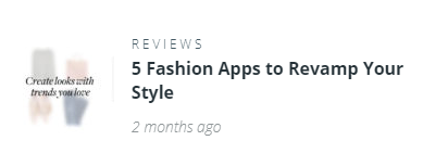 5 Fashion Apps to Revamp Your Style