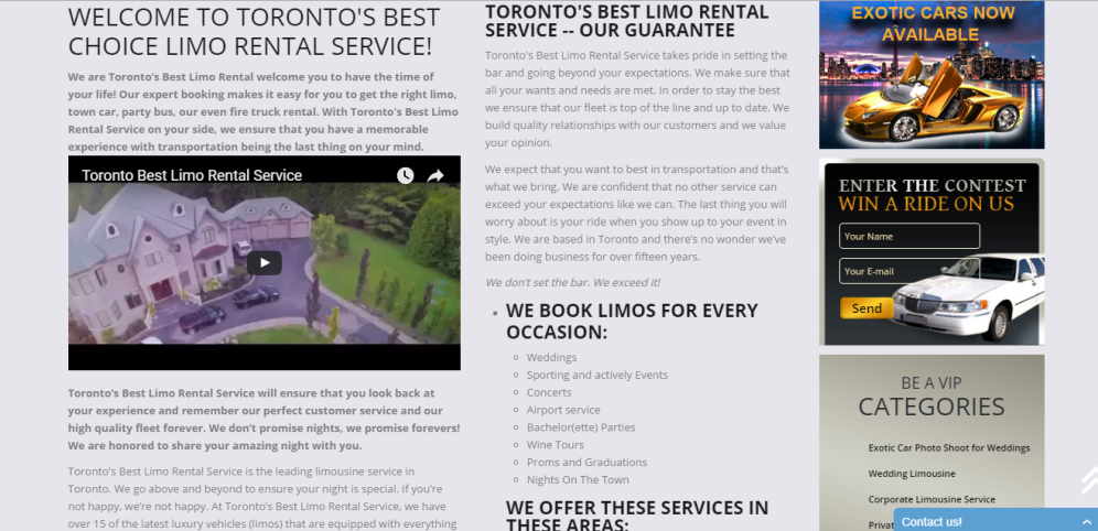 Toronto Limo [http://torontobestlimorentalservice.ca]