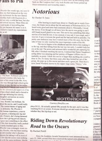 Jones, C. (2009) Notorious. The Carlow Chronicle