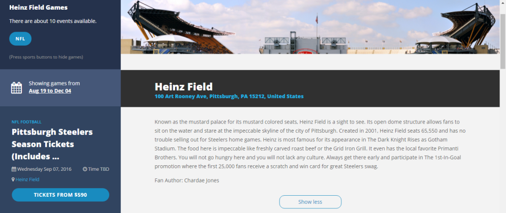 Sports Where I Am https://sportswhereiam.com/pittsburgh/heinz-field/