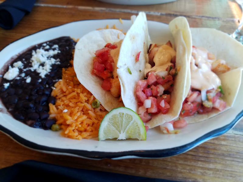 Las Velas Tacos, Beans & Rice | Photo Credit: @justdae