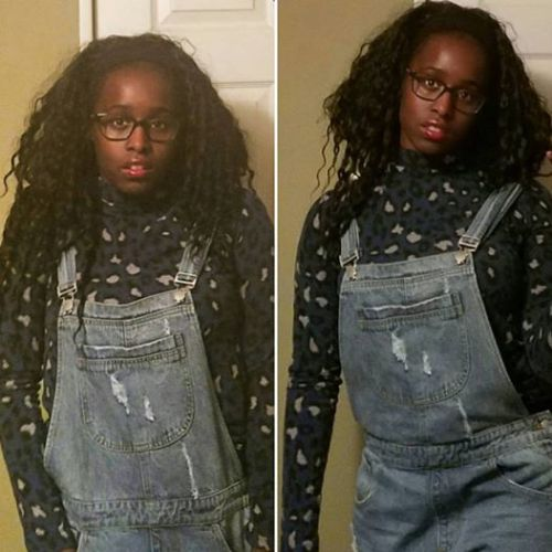 Overalls & Turtleneck from Forever21