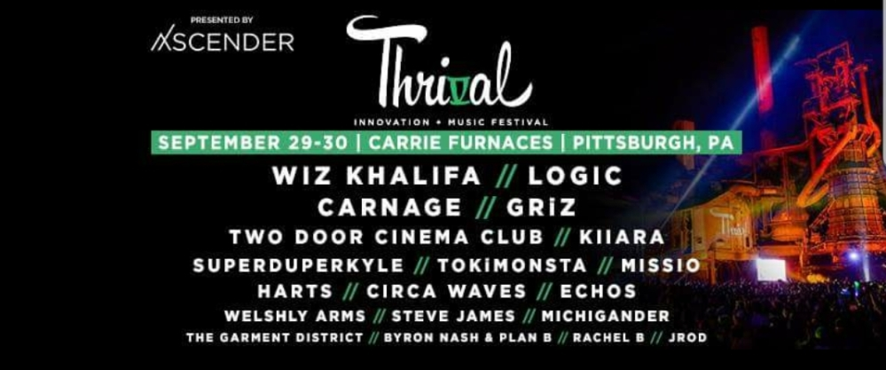 Thrival Festival 2017 Lineup