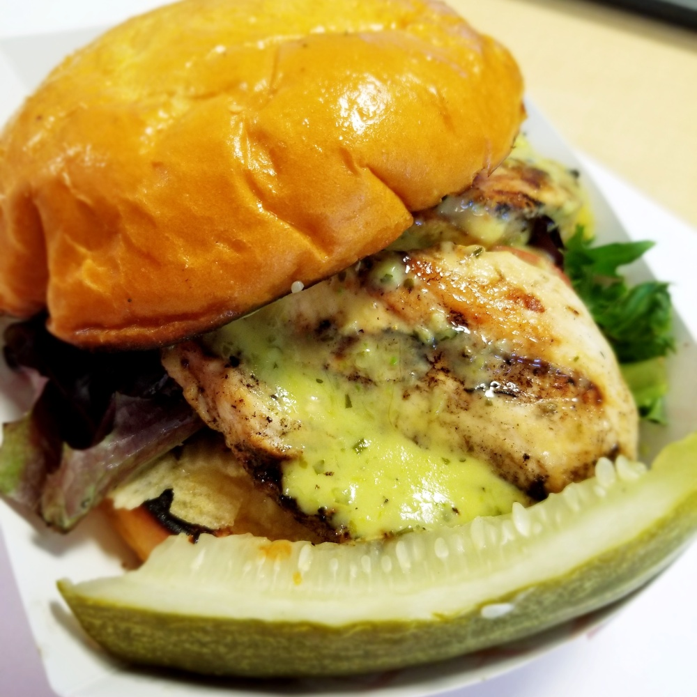 Pittsburgh Sandwich Society Grilled Chicken Sandwich